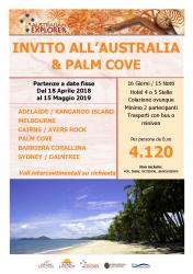 Invito allAustralia e Palm Cove
