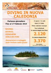 Diving in Nuova Caledonia